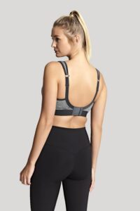 Non Wired Sport Bra (Charcoal Marl)-2