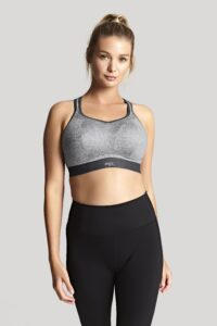 Non Wired Sport Bra (Charcoal Marl)-3