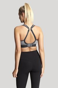 Non Wired Sport Bra (Charcoal Marl)-4