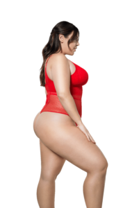 Mia Dot Bodysuit (Racing Red)-3