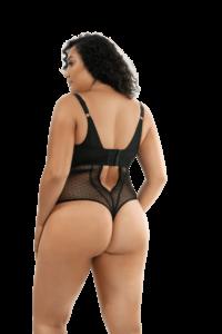 Mia Dot Bodysuit (Black)-4