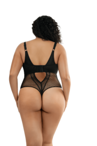 Mia Dot Bodysuit (Black)-5