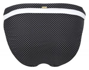 Panache Britt Bandeau bikini top (Black)-7